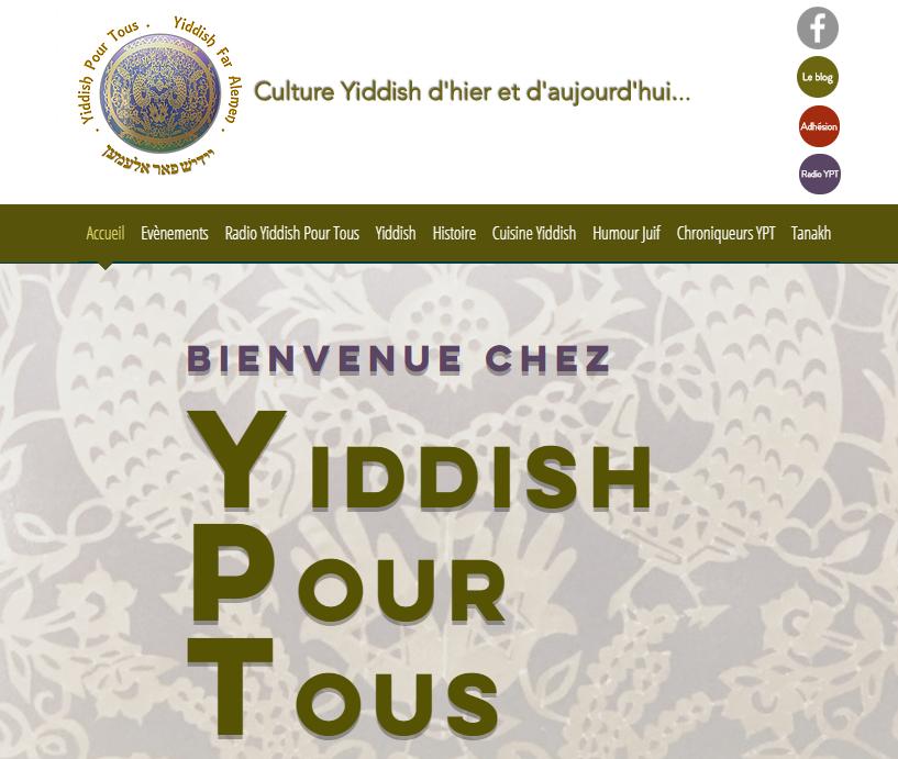 Yiddish Pour Tous Accueil