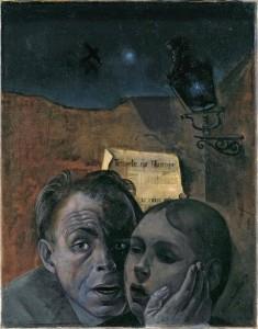 Félix Nussbaum - La peur (1941)