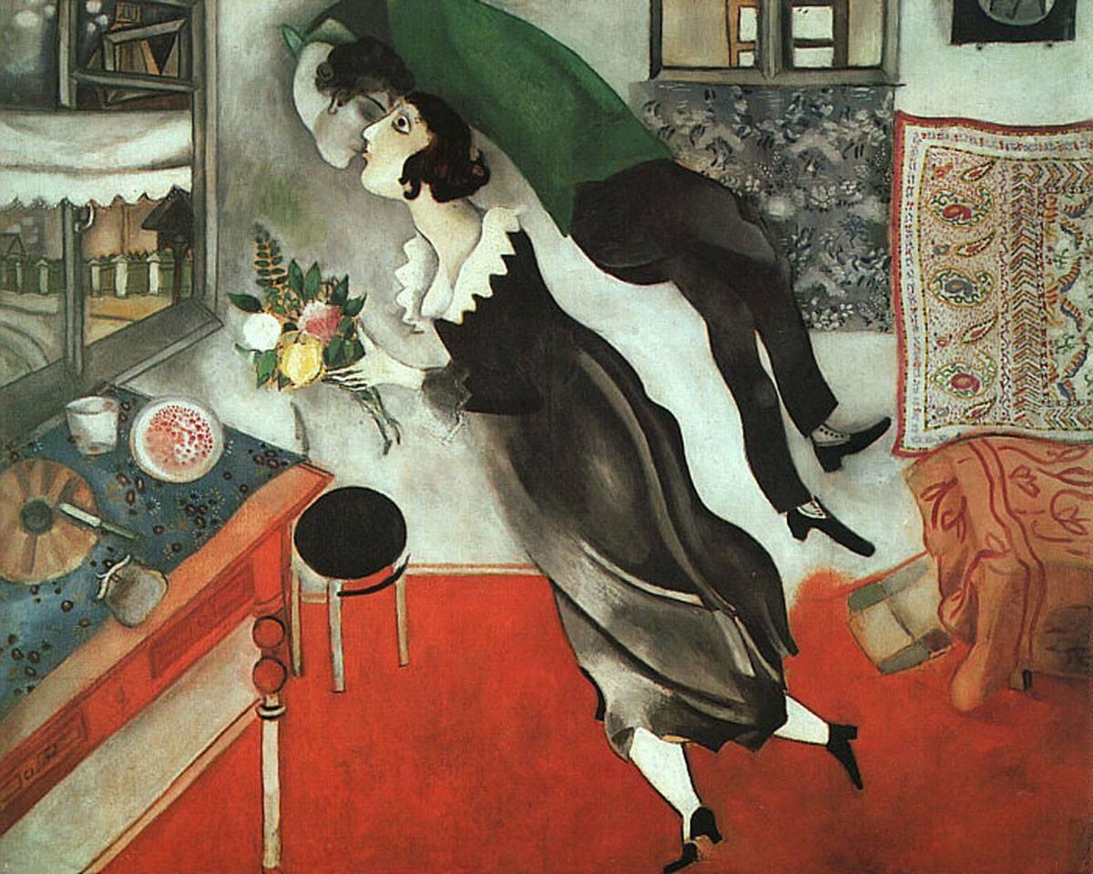 Tableau Bella et Chagall