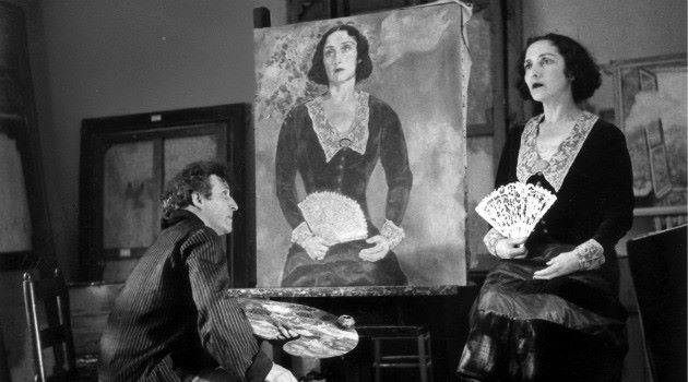 photo bella pose pour Chagall