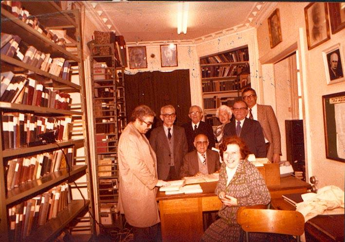Bibliothèque Medem - Paris 1970