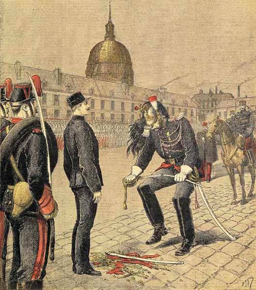 Dégradation du capitaine Alfred Dreyfus