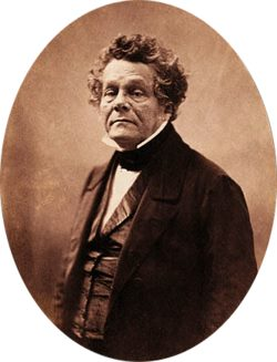 Adolphe Crémieux par Nadar