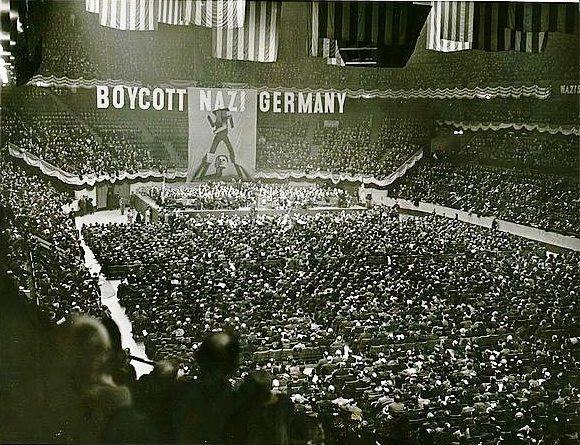 Rassemblement de protestation anti-nazi NY