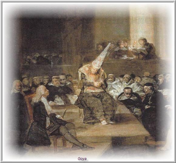 """Francisco Goya, """"Por linage de Ebreos"""""""